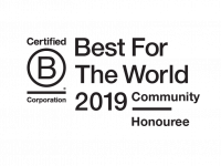UK B-Corp Best for the World 2019 Community Honouree