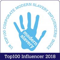 UK Top 100 Corporate Modern Slavery Influencer 2018
