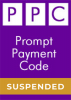 CICM PPC SUSPENSIONS: Prompt Payment Code Suspension
